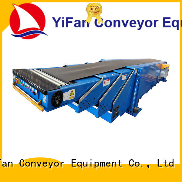YiFan best extendable conveyor belt with good reputation for storehouse