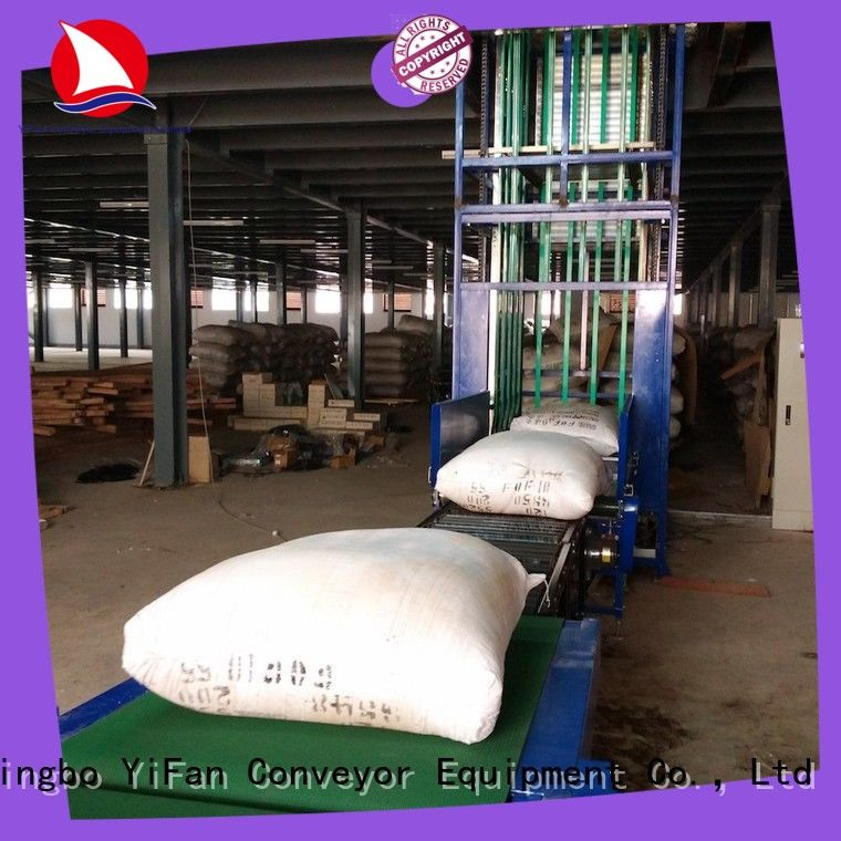 YiFan vertical material lifts widely use for storehouse