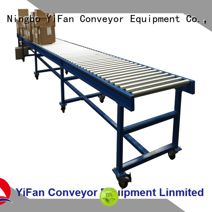 YiFan gravity roller conveyor suppliers from China for carton transfer