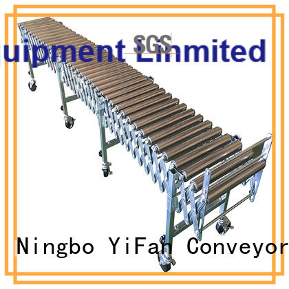YiFan steel gravity roller conveyor supplier for warehouse logistics
