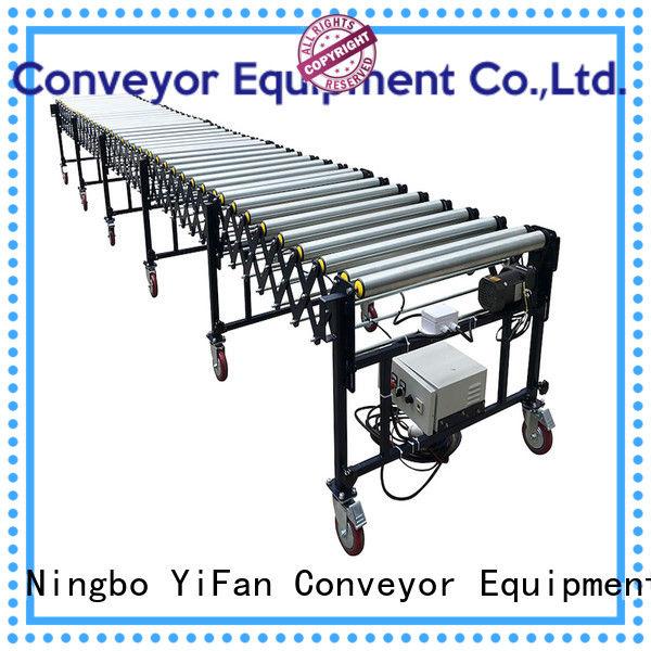 YiFan conveyorv flexible gravity conveyor for storehouse