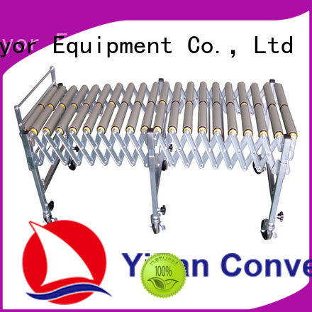YiFan 5 star services expandable conveyor factory price for warehouse logistics