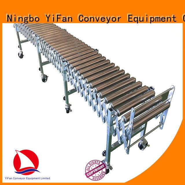 YiFan long-lasting durability flexible roller conveyor supplier for industry