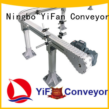 shop slat chain conveyor steel with favorable price for beverage industry