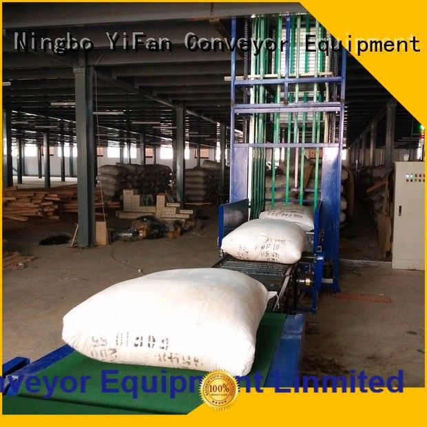 YiFan conveyor vertical lift conveyor systems for warehouse