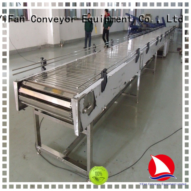 durable slat chain conveyor flexible request for quote for cosmetics industry