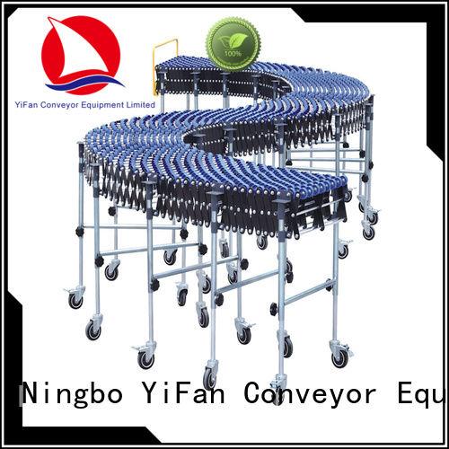 YiFan wheel warehouse conveyors for dock