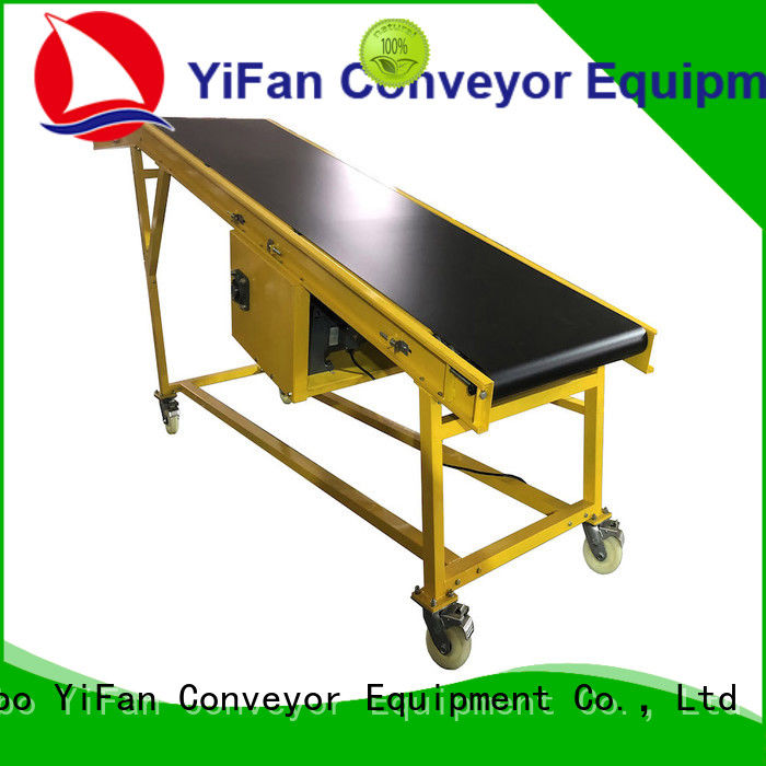 YiFan 2019 new conveyor truck online for factory