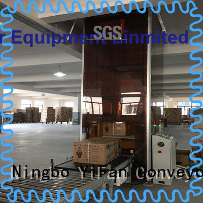 YiFan Type Z vertical lifting conveyor directly sale for airport
