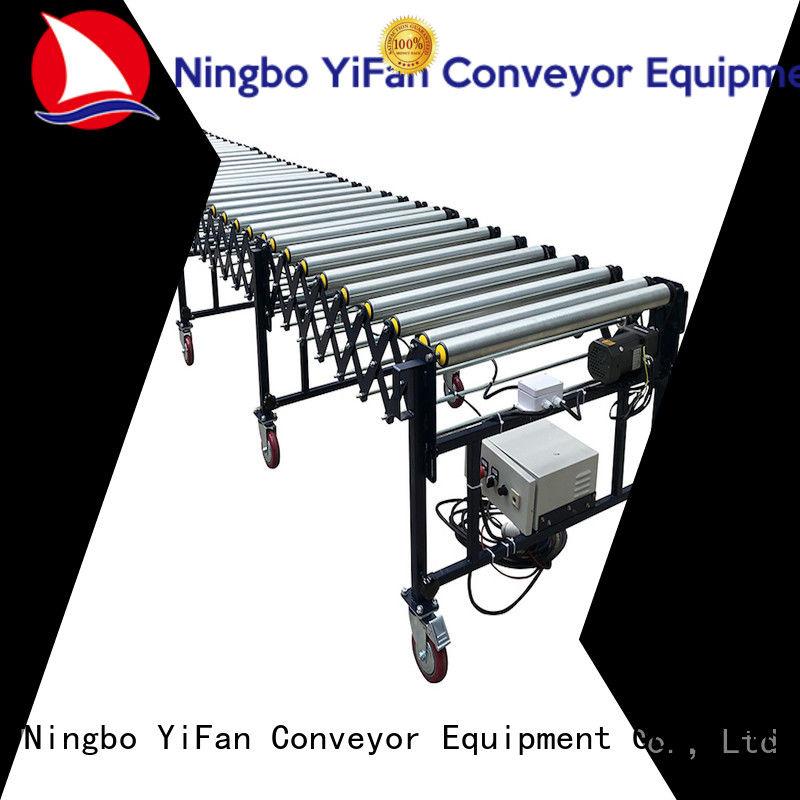 YiFan flexible motorized roller conveyor quick transaction for workshop