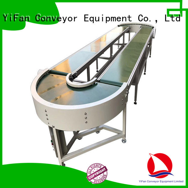 YiFan 2019 new designed rubber conveyor belt suppliers with bottom price for medicine industry