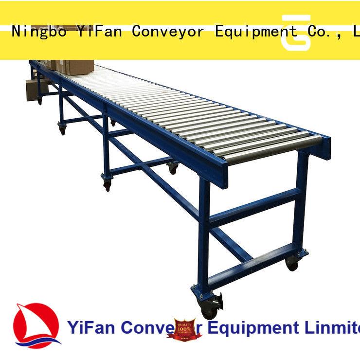 YiFan good quality conveyor manufacturers manufacturer for carton transfer