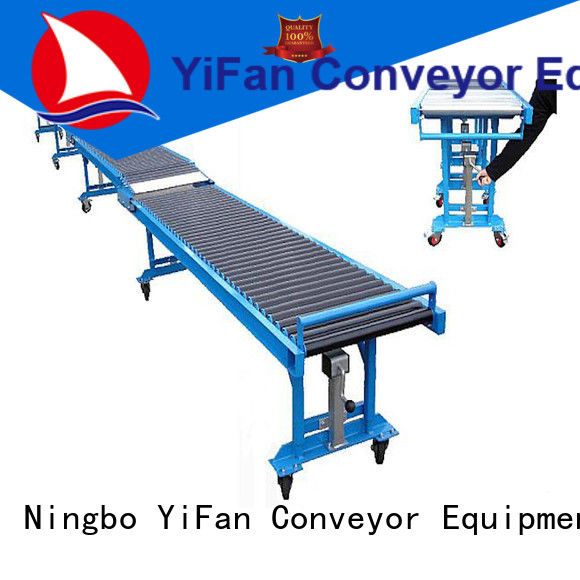 high performance gravity roller conveyor unloading international market for workshop