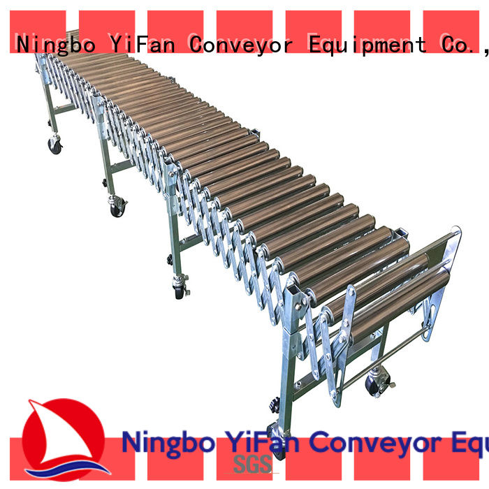 YiFan pvc roller conveyor system supplier for industry
