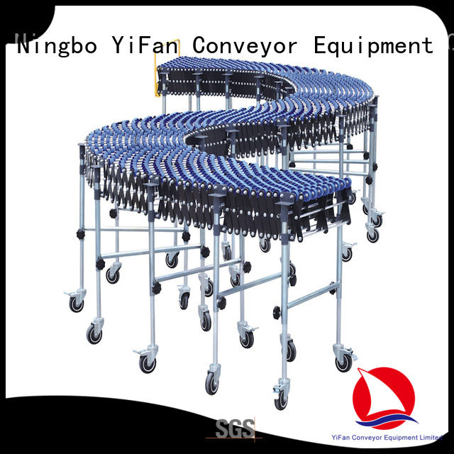 YiFan professional gravity skate wheel conveyor with long service for storehouse
