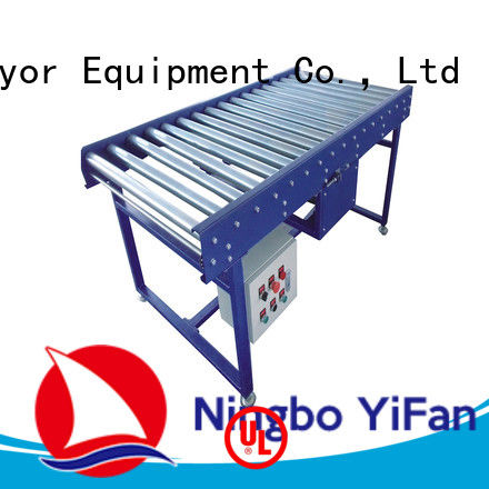 YiFan conveyor gravity roller conveyor manufacturer for carton transfer