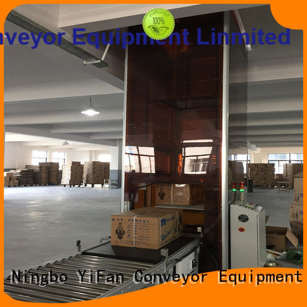 latest lifting conveyor lifting Chinese manufacture for storehouse