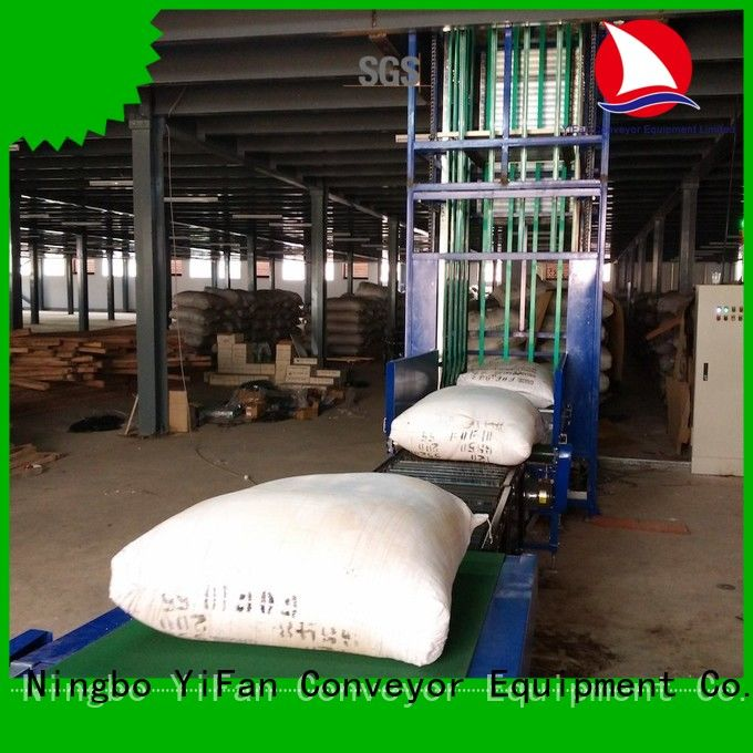 YiFan conveyor lifting conveyor directly sale for storehouse