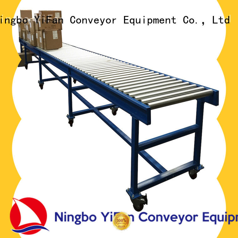 YiFan steel conveyor roller suppliers source now for material handling sorting