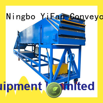 YiFan telescopic belt conveyors for dock