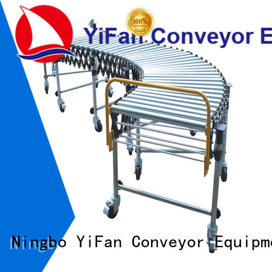 YiFan long-lasting durability flexible gravity roller conveyor factory price for warehouse logistics