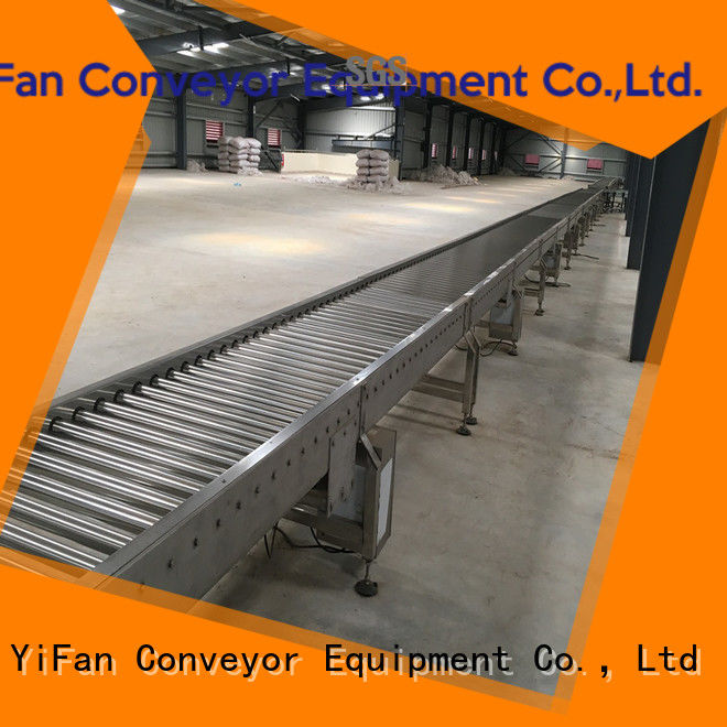 YiFan new design conveyor systems manufacturers for material handling sorting