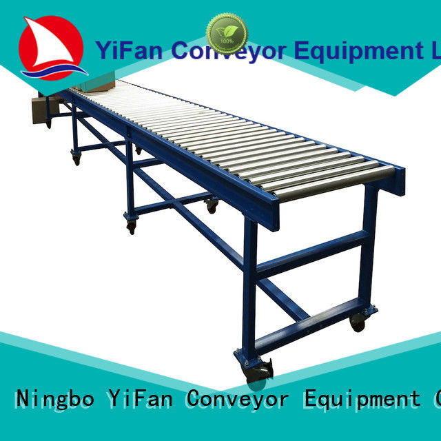 YiFan china professional conveyor belt rollers suppliers chinese manufacturer for carton transfer