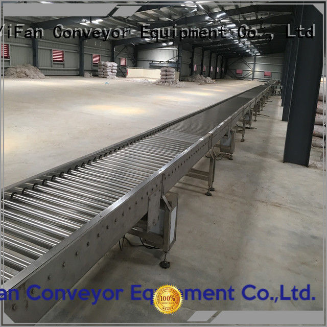 YiFan conveyor conveyor manufacturers chinese manufacturer for carton transfer