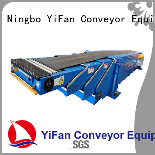 YiFan telescopic container loading equipment with good reputation for mineral