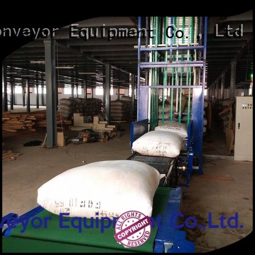 exporter vertical conveyor system Type C China supplier for factory