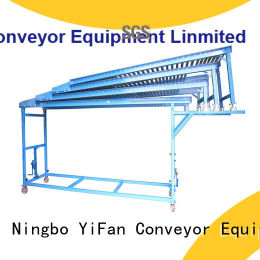 YiFan roller conveyor systems great deal for workshop