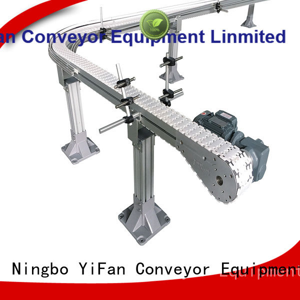 YiFan conveyor chain conveyor manufacturer request for quote for cosmetics industry