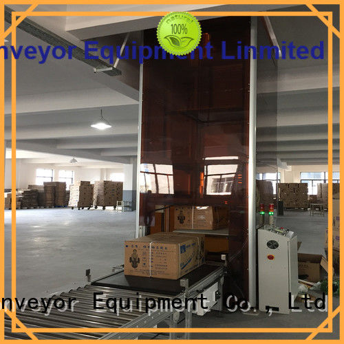 YiFan vertical vertical conveyor system directly sale for workshop