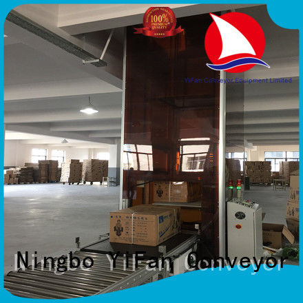 vertical pallet lift conveyor China supplier for warehouse