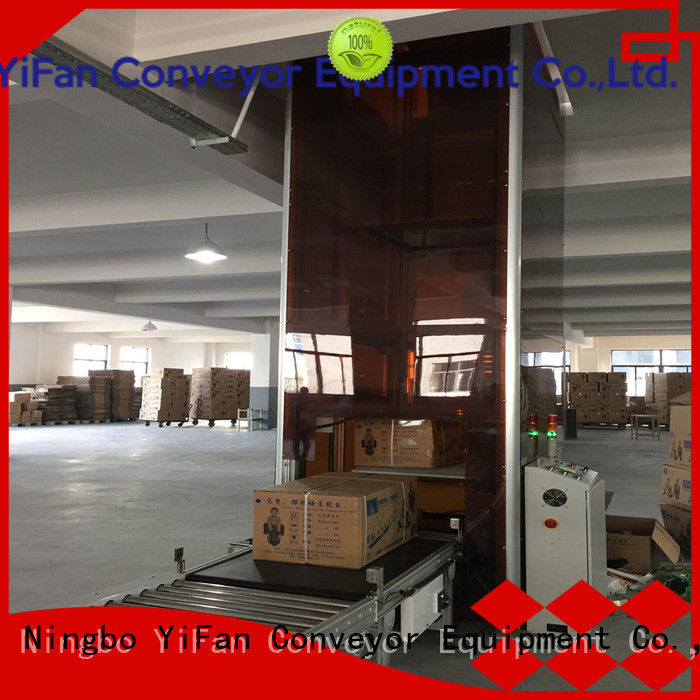 YiFan vertical vertical lifting conveyor Chinese manufacture for harbor