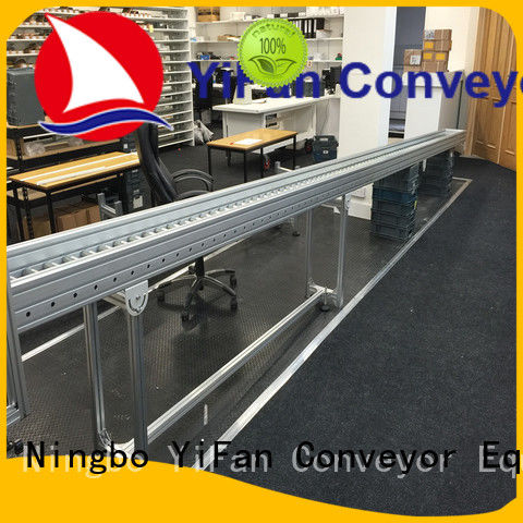 YiFan powered roller conveyor suppliers source now for industry
