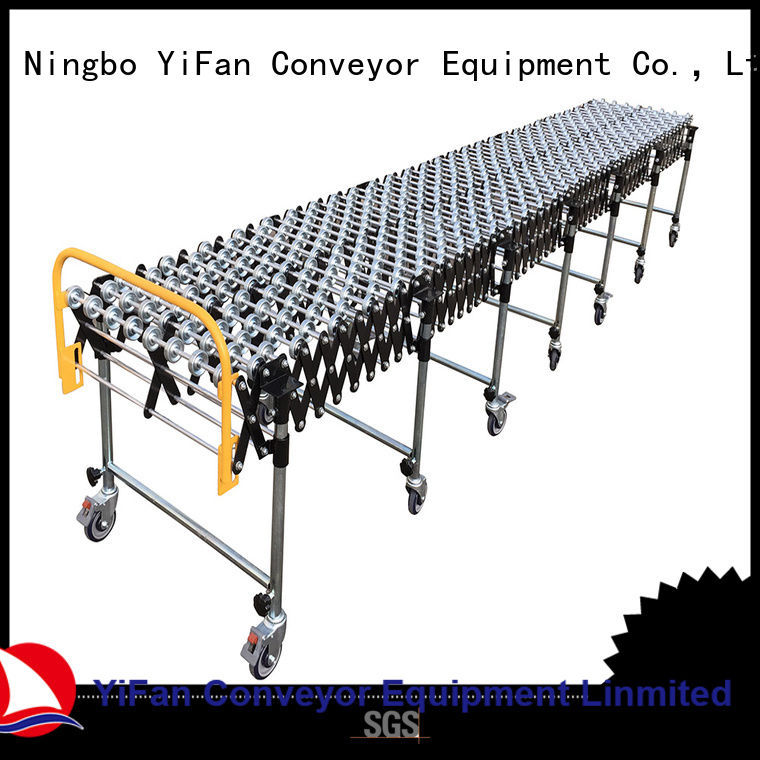 professional wheel conveyor plastic online for harbor