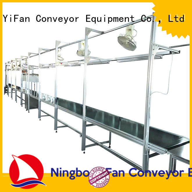 YiFan most popular rubber conveyor belt manufacturers awarded supplier for packaging machine