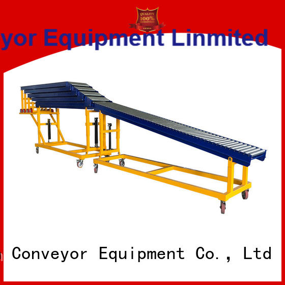 YiFan unloading powered roller conveyor system factory price for storehouse