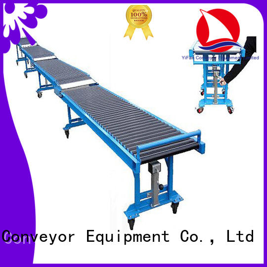 competitive price gravity conveyor roller china manufacturing for dock