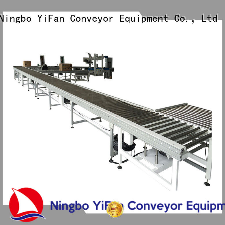 YiFan stainless roller conveyor manufacturer chinese manufacturer for workshop