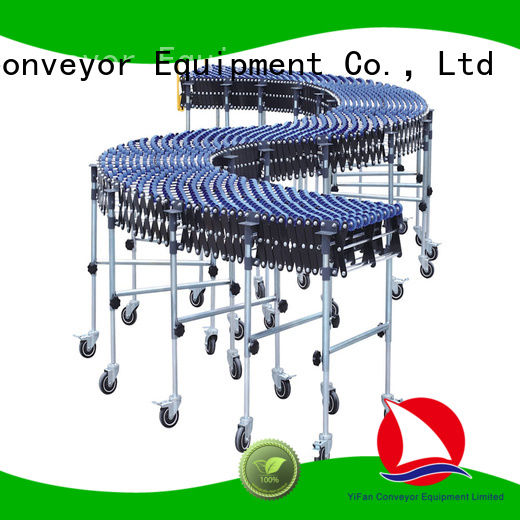 wheel conveyor plastic popular for storehouse