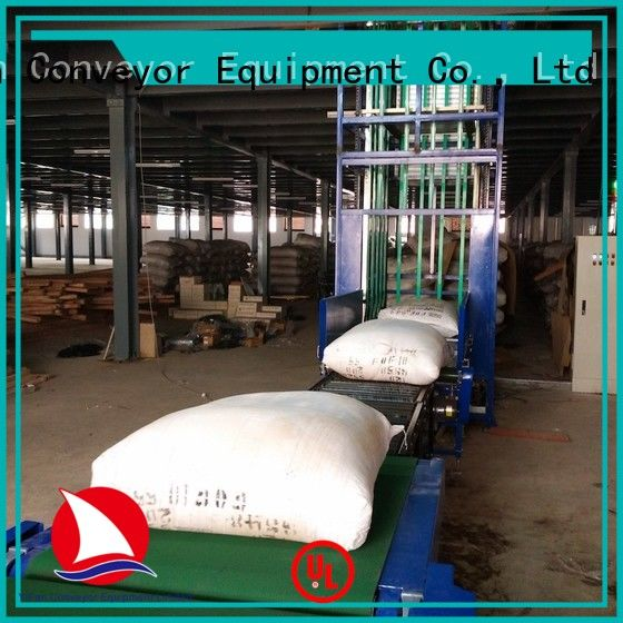 top quality vertical lifting conveyor continuous directly sale for warehouse