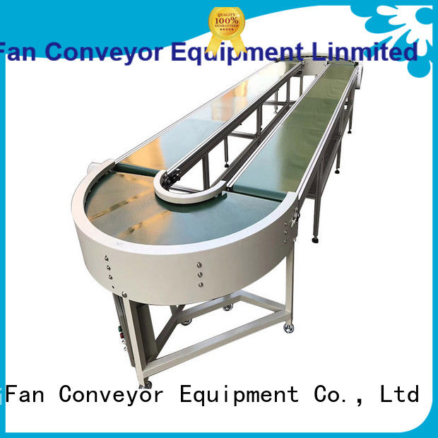YiFan stainless belt conveyor system with bottom price for food industry