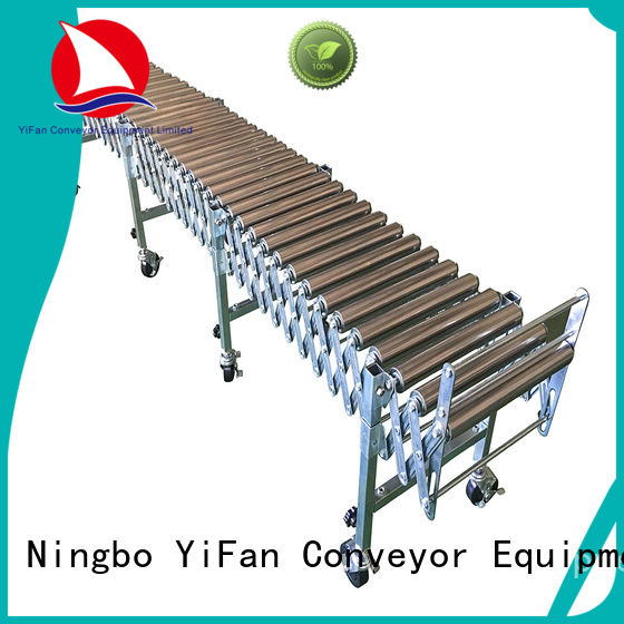 duty expandable conveyor for-sale for warehouse logistics YiFan