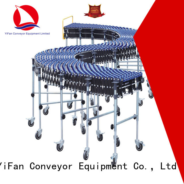 YiFan roller wheel conveyor top brand for storehouse