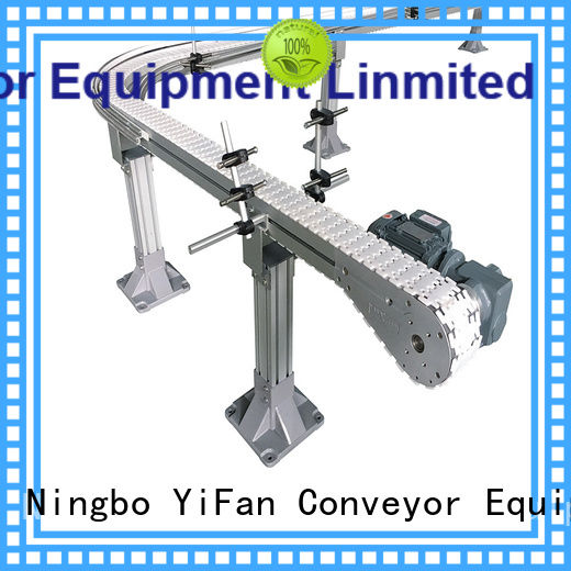 YiFan durable slat conveyor with favorable price for beverage industry