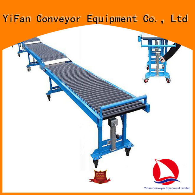 YiFan best selling telescoping conveyor factory price for seaport