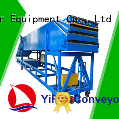 YiFan excellent quality conveyor belt machine with good reputation for dock