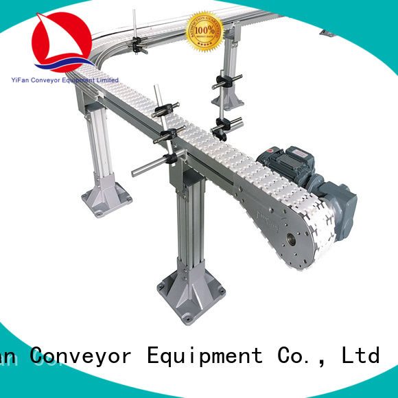 YiFan factory supplier top chain conveyor with favorable price for food industry